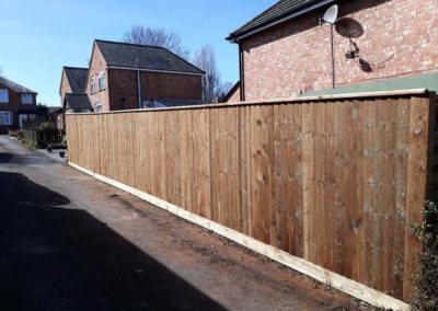 fencing installed